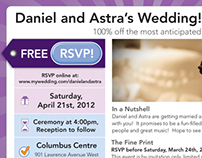 Groupon Themed Wedding Invitation & materials