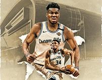 NBA and PBA Artworks