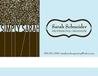 Professional Organizer Business Card