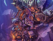 Heroes of Storm: blizzard & DA contest