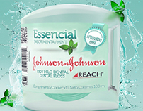 Embalagem Fio Dental - Johnson & Johnson