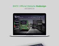BMTC website - Redesigned