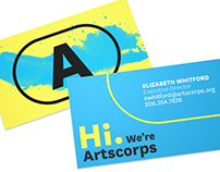 Artscorps Rebrand