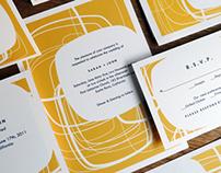 Circles - Printable Wedding Invitation Kit - e.m.papers