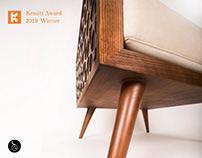 Arabesque Chair The winner design in Kemitt