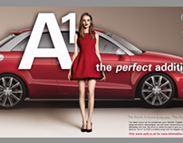 Advertising assignment: AUDI A1