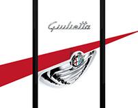 Animation interactive pour le lancement de la Giulietta