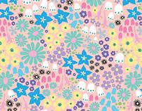 Dream Garden Repeat Pattern