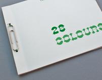 26 Colours