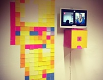 Pixomat @We Love 8bit Art Show Vienna