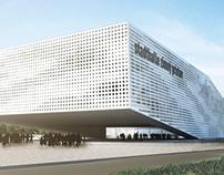 Stadthalle Bratislava - diplomový projekt