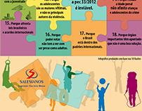 Infográficos para mídia impressa e digital #Salesianos
