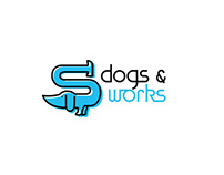Dogs&works logo
