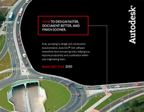 PRINT ADS: Autodesk 2010 Global Launch