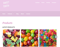 SWEET TOOTH Online Candy Store