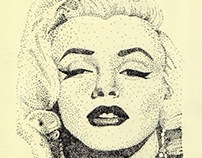 Pointilism portraits