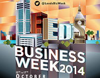 Creative for Leeds Business Week
