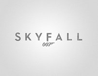 Skyfall Title Style & Ltd. Edition IMAX Poster
