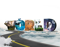 Graphic design / world poster