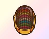 Daft Punk Helmet GIF
