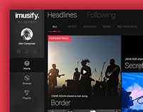 Imusify - New Age Music Experience
