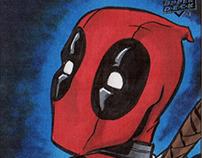 Captain America - Civil War Sketch Cards by Upper Deck