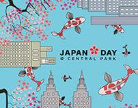 Japan Day @ Central Park Poster
