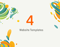 Website Templates / Set #2