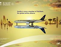 SAUDIA SkyTeam Campaign & Event
