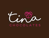 Logo Tina Chocolates