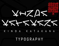 'Kinda Katakana' Typography
