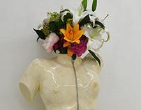 Life Cast Art  - 花器 flower vase-