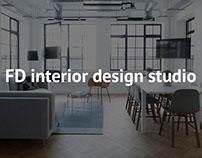 Сайт для студии дизайна интерьера