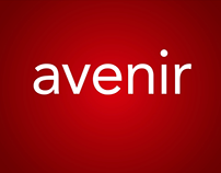 Kinetic Typography - Avenir