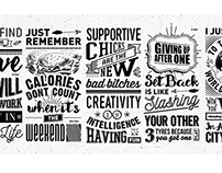 Typography - Home Office - Wall Art