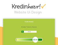 KredinHazır  -  Web UI Design