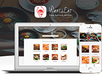 Want2Eat - Food delivery Service(Web, app)