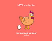 Lie vs Lay