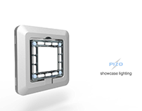 PIZO - showcase lighting