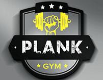 Plank Gym Logo