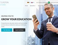 Company Website Design - EastEuropeanStudies.com