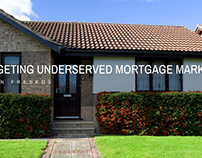 Targeting Underserved Mortgage Markets is a Priority