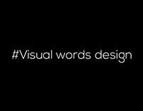 Visual words design