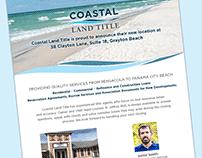 Coastal Land Title - Branding and Design