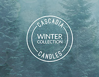 Cascadia Candles | Package Design