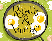 Recetas&Viñetas (The Drawn Recipes Cookbook)
