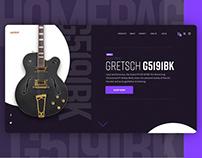 UX & UI ECOMMERCE MUSIC SHOP WEB