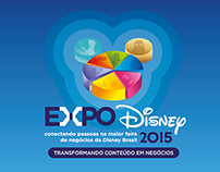 Logotype for Expo Disney Brasil 2015