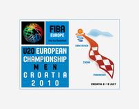 FIBA EUROPE U20 Championship Men Croatia 2010
