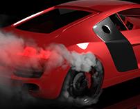 Audi R8 - Render Super Realista